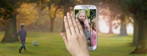 Air gesture Samsung Galaxy S4