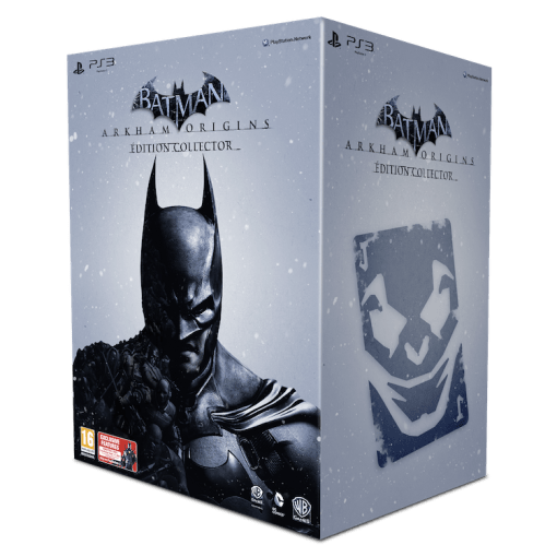 Batman: Arkham Origins collector packshot