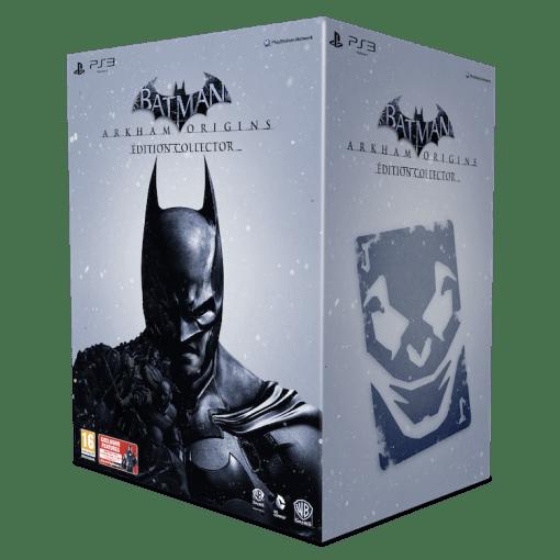 Batman: Arkham Origins collector packshot