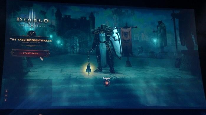 Reaper of Souls Crusader in-game