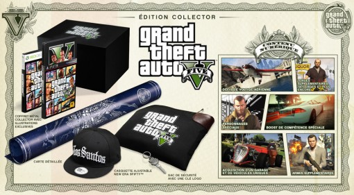 GTA V Edition Collector Contenu