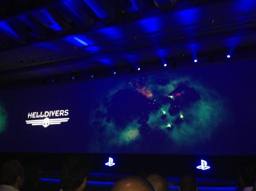 Helldivers PS4 Gamescom