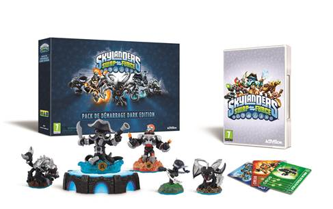 Skylanders Swap Force Dark Edition contenu
