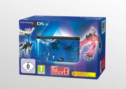 3DS Collector Pokemon X et Y Bleue
