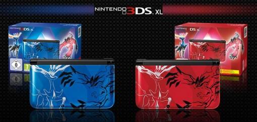 3DS Collector Pokemon X et Y rouge et blueue