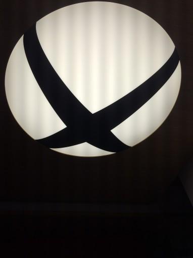 Plafond Xbox one hotel