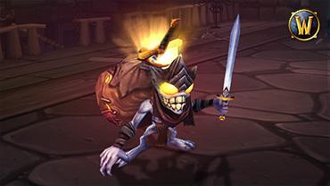 Mascotte gobelin au trésor pour World of Warcraft