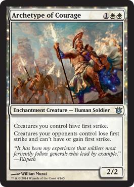 Archetype du courage - Créations Divines