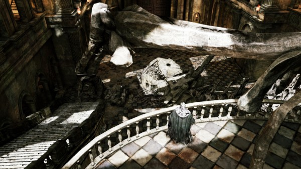 Dark souls 2 environnement
