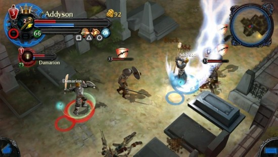 Dungeon Hunter Alliance gameplay 3
