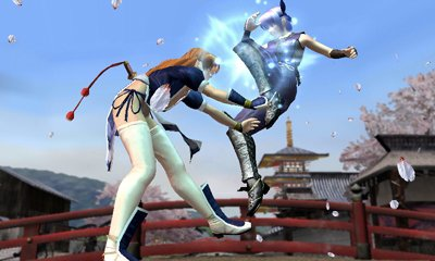 dead-or-alive-dimensions-nintendo-3ds Kayane vs ayane
