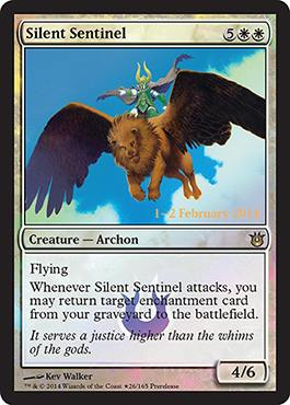 sentinelle silencieux Promo Born of the Gods