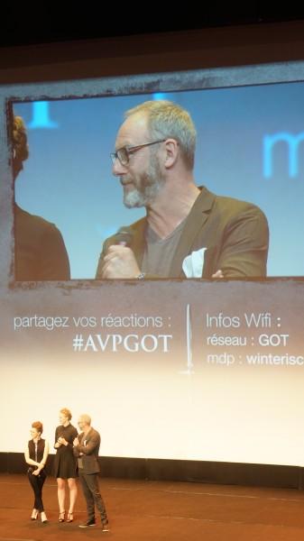 #AVPGot liam cunningham Davos Game of Thrones