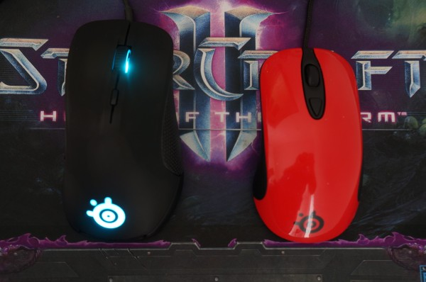 Steelseries Rival forme comparaison