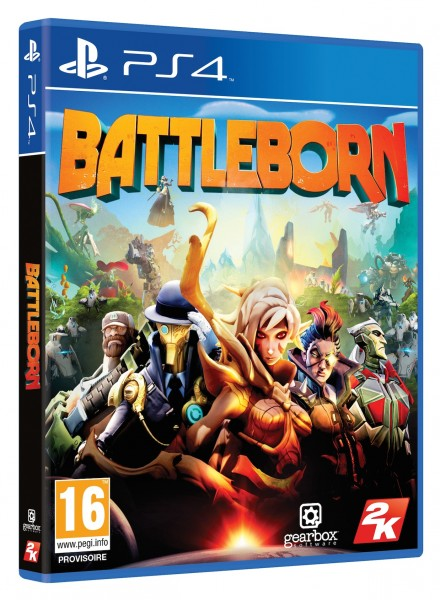 Battleborn Packshot PS4