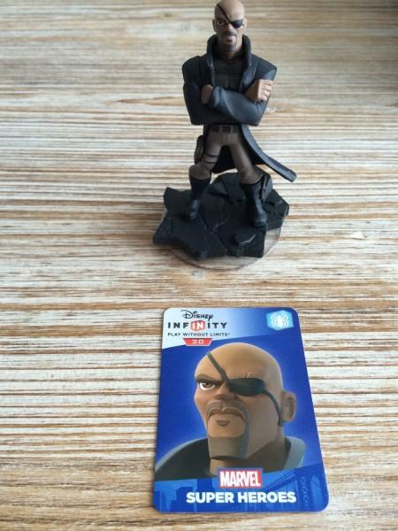 Figurine 'Disney Infinity 2.0' - Marvel Super Heroes Nick Fury