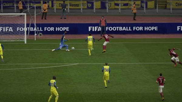 FIFA 15 Journée en direct 2-2 ROM - CVE, 2e p.