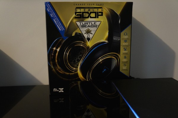 Packaging Turtle Beach Stealth 500P