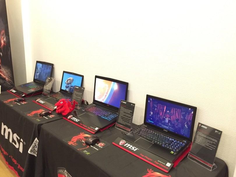 Gamme portable Gaming MSI