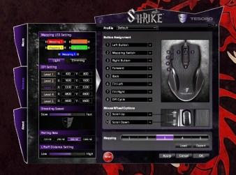 Tesoro Shrike Black Edition config 1