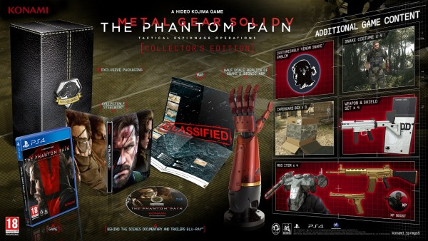 Collector MGS the phantom pain