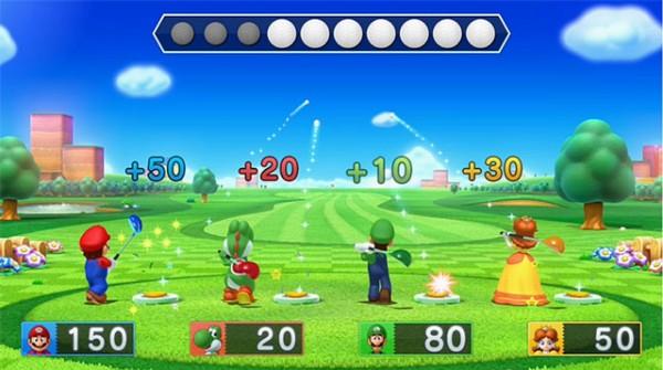 Une balle de golf, on frappe, une bombe, on ne bouge pas !