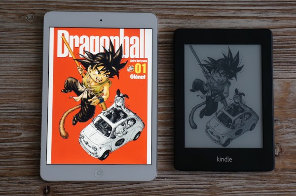 Dragon Ball Perfect Edition Kindle iOS Android
