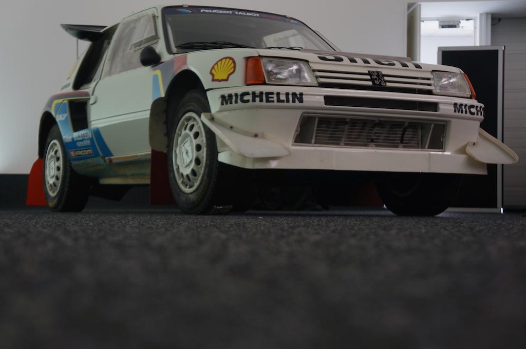 La mythique 205 T16 Rally