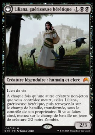Liliana Magic Origines
