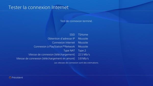 Config Réseau PS4