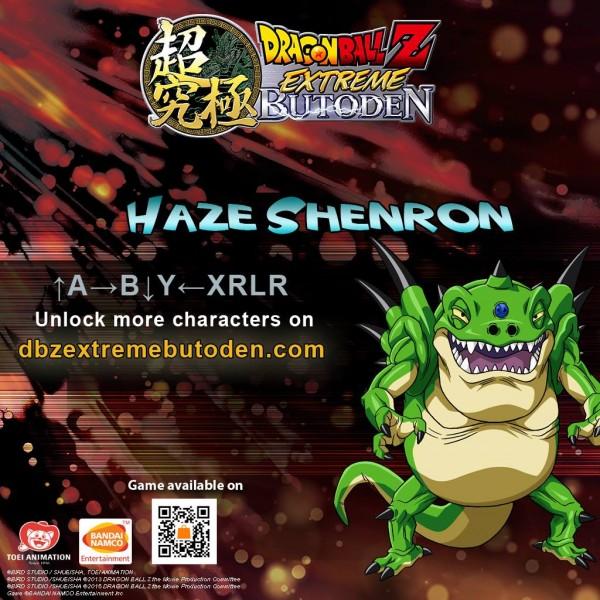 DBZ Extreme Butoden - Z-assist Haze Shenron