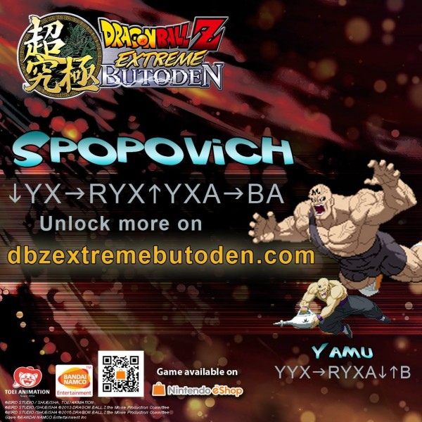 DBZ Extreme Butoden - Z-assist Spopovich