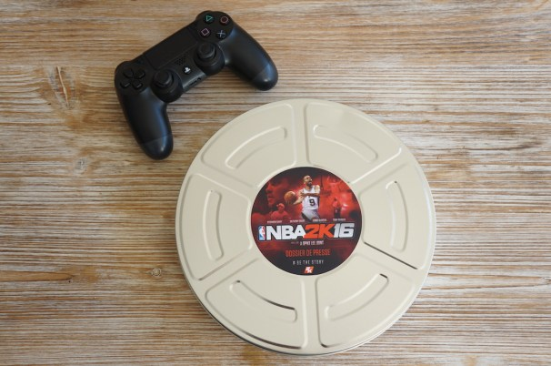 Press kit NBA 2K16