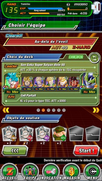 Dokkan Battle Team anti broly