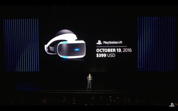 PS VR date