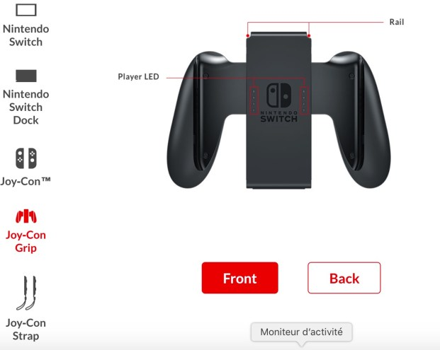 Switch Joy-Con grip