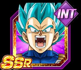 Uncontrollable Rage Super Saiyan God SS Vegeta