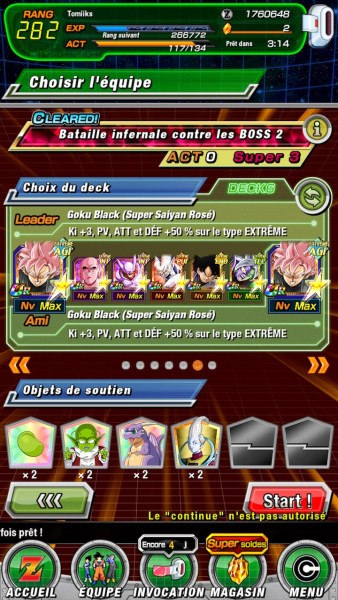 Team Boss Rush Super 3