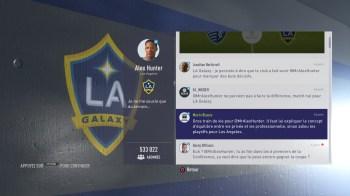 FIFA 18 L'Aventure (dans les menus)