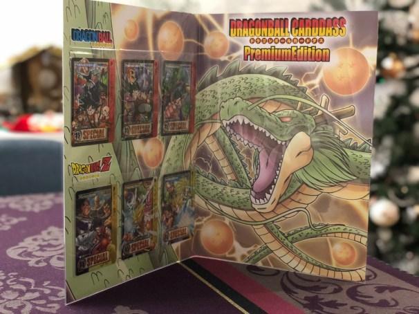 DRAGON BALL CARDDASS PREMIUM EDITION