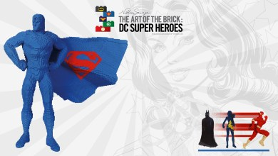 Photo of Expo : The Art Of The Brick : DC Super Heroes