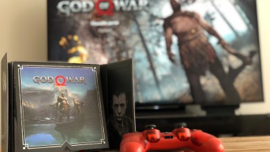 Photo de Unboxing – Press Kit de God of War sur PS4