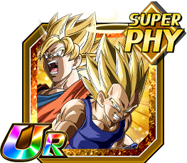 Goku & Vegeta SSJ