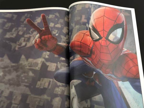 Press Kit Spider-Man PS4