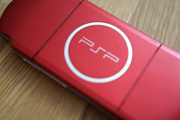 PSP Slim & Lite Radiant RED