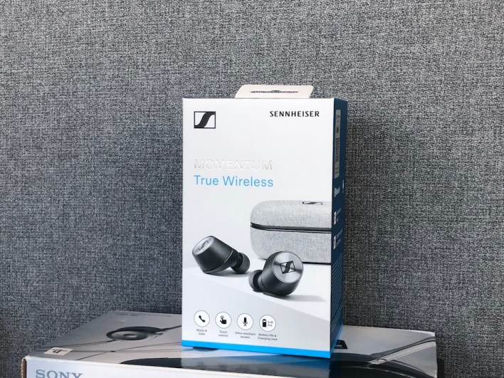 Sennheiser MOMENTUM True Wireless box