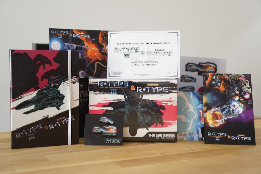 R-Type III & Super R-Type Collector's Edition sur SNES