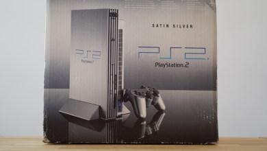 PS2 Satin Silver Box