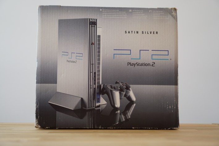 PS2 Satin Silver Box
