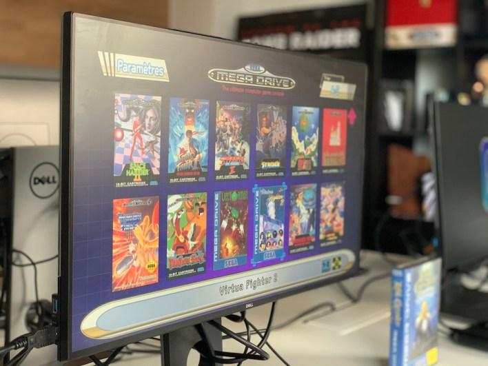 interface des jeux